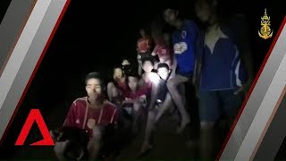 Thai Cave Rescue First Video Of Boys Found Alive After 9 Days In Tham Luang