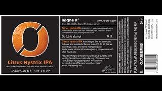 Beer Review #6: Nøgne Ø Citrus Hystrix IPA @ The Local Pub