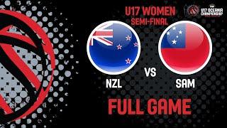 LIVE - New Zealand v Samoa - FIBA U17 Women's Oceania Championship 2019