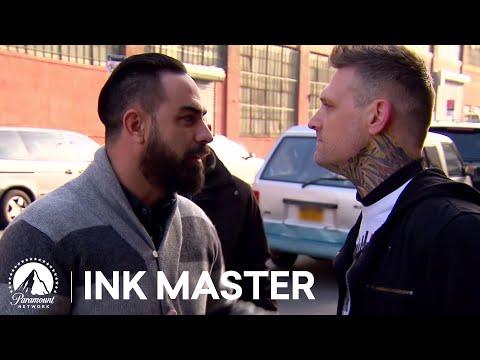 Kyle Dunbar Attacks Chris Nunez 👊 Top 5 Moment from Ink Master Season 4