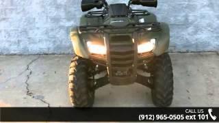 9. 2012 Honda FourTrax  Rancher 4x4 ES - Southeast Motorcycl...