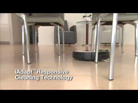 iRobot 560 Roomba Vacuuming Robot, Black and Silver