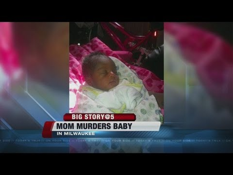 Father talks after mom charged with homicide in week-old baby's death