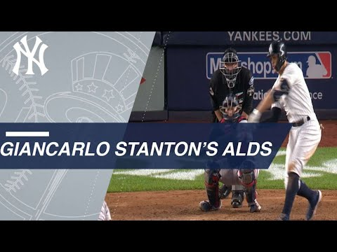 Video: Best of Giancarlo Stanton's 2018 ALDS vs. the Red Sox