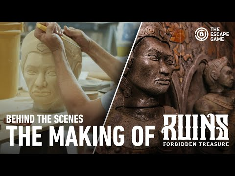 Behind The Scenes of RUINS: Forbidden Treasure by The Escape Game