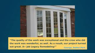 Why Use Legacy Remodeling Replacement Windows?
