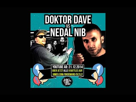 DLTLLY // Rap Battle // Doktor Dave vs. Nedal Nib