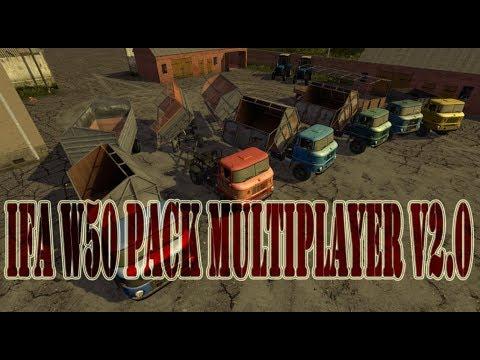 IFA W50 Pack Multiplayer v2.0