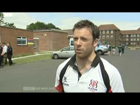 ulster rugby players being beasted by 2 battallion the rifles.mp4