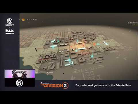 New Gameplay Washington D C 's Map de Tom Clancy's The Division 2