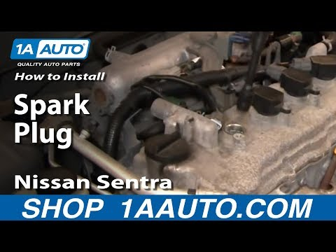 How To Install Replace Spark Plugs Nissan Sentra 04-06 1AAuto.com