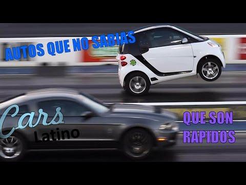 7 Autos Que No Te Imaginas Que Son Rapidos *CarsLatino*