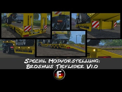 Broshuis low loader v1.4