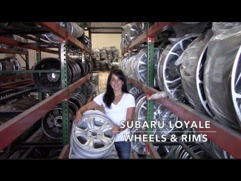 Factory Original Subaru Loyale Rims & OEM Subaru Loyale Wheels – OriginalWheel.com