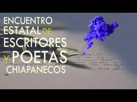 Encuentro Estatal de Escritores y Poetas Chiapanecos