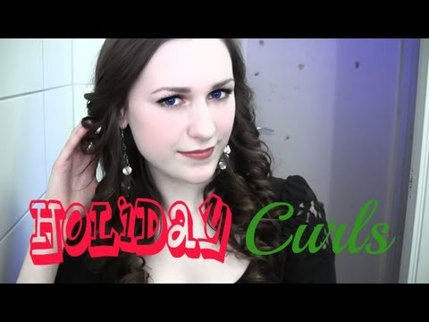 Easy holiday curls!