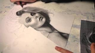 Part 2: shading the portrait (time lapse)