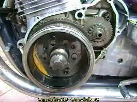 Replace a starter clutch on a Suzuki GS 1000 Motorcycle