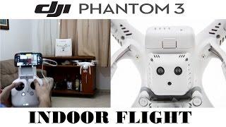 Galera, esse vídeo é uma demonstração de como se comporta o DJI Phantom 3 em voos Indoor (locais fechados).