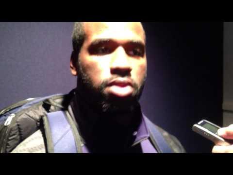 Deion Barnes Interview 9/21/2013 video.