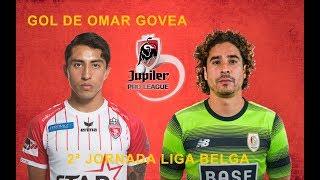Omar Govea marca su primer Gol en la Liga Belga, gran inicio de Temporada. Por su parte Memo Ochoa solo encajo un Gol en la Victoria frente al Genk