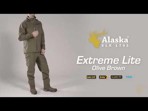 Extreme Lite Olive Brown hunting suit details