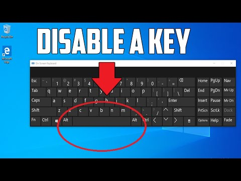 How to Disable/Block a Key in Your Windows 10 Keyboard