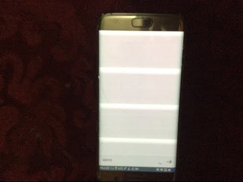 , title : 'How To Fix The Samsung Galaxy S7 Horizontal Lines On Screen * WEIRD*'