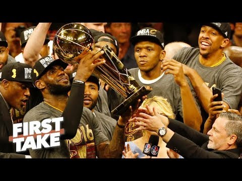 LeBron's loyalty to Cleveland is the reason he is the G.O.A.T - Chiney Ogwumike | First Take