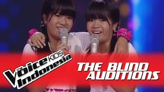 "Video Duo Nao ""Best Friends Forever"" I The Blind Auditions I The Voice Kids Indonesia GlobalTV 2016 MP3, 3GP, MP4, WEBM, AVI, FLV September 2018"