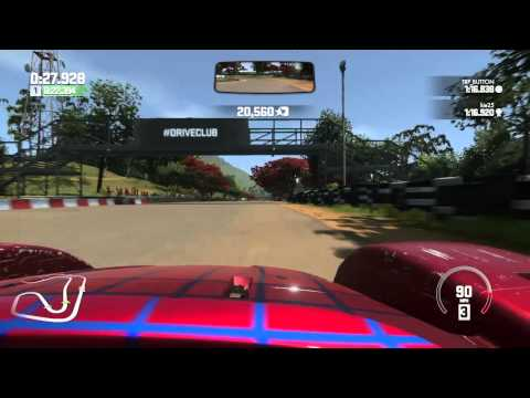 DRIVECLUB CATERHAM  SP 300 R WORLD RECORD HOTLAP INDIA