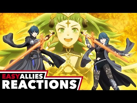Byleth Joins Smash Bros. - Easy Allies Reactions