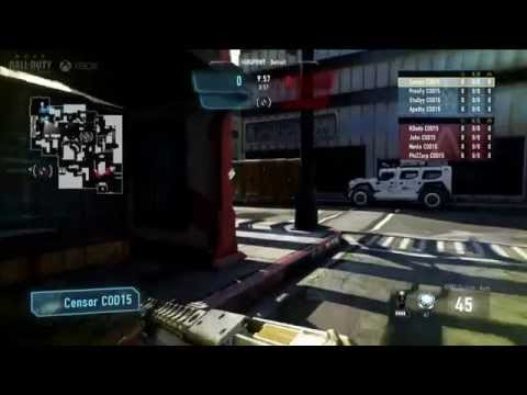 Faze Black vs Strictly Business - Game 1 - Upper R1 - Call of Duty Championship 2015