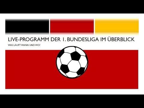 Bundesliga Live-Programm im Überblick