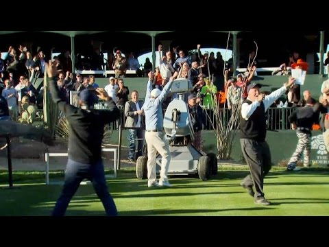 WATCH: Robot Hits Hole-in-One on 16 at Phoenix Open!