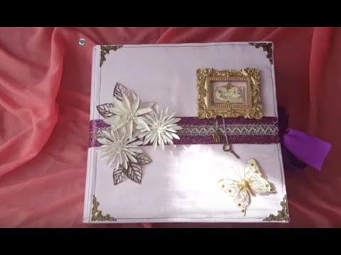 Scrapbooking: Hochzeitsalbum Teil 1