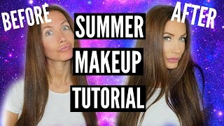 GRWM/SUMMER MAKEUP TUTORIAL by Channon Rose