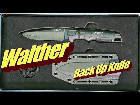 Walther Gürtelmesser Back Up Knife