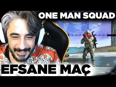 EFSANE MAÇ (ONE MAN SQUAD) !!!