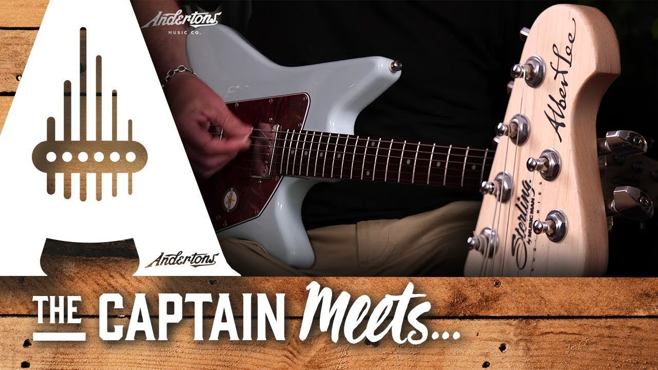 Win a Signed Albert Lee Sterling Guitar – UK competition!