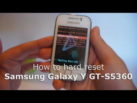 comment debloquer samsung galaxy y gt-s5360