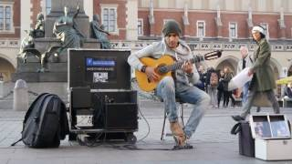 Amazing street guitar performance by Imad Fares