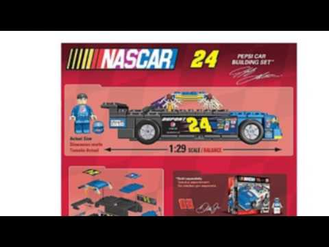 Video Check out the latest video of Nascar 24 Pepsi Car Building Set