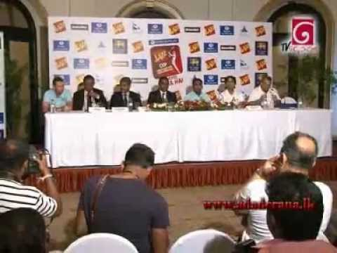 Pakistan team's arrival in Sri Lanka and press conference (2012)