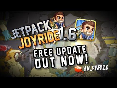 Jetpack Joyride Update 1.6 - S.A.M.