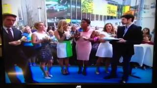 Ben and Ginger on GMA.