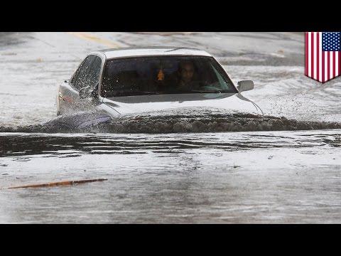 El Nino hits California: Storms drown Southern California in flood water and mud - TomoNews