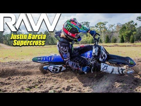 Justin Barcia Supercross practice in Florida RAW - Motocross Action Magazine