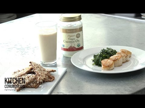 Pantry Hack: 3 Coconut Oil Recipes – Kitchen Conundrums with Thomas Joseph