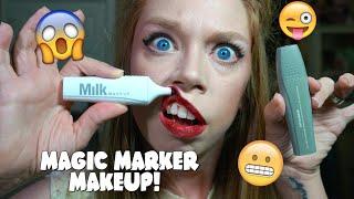 MAGIC MARKER MAKEUP! by GRAV3YARDGIRL